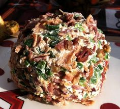 Bacon Jalapeno Cheese Ball #Recipe #Snacks #appetizers