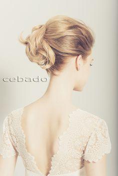 Tendencias CEBADO Primavera - Verano 2015 - Recogido  novia boda - wedding hair up - spring - summer
