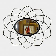 Mughal Mirror http://www.tadpolestore.com/studio-saswata #India #Indian #designer #mirrors #home #accessories #decor #studio_saswata