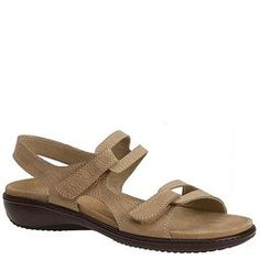 These are cute - and look comfy!  Trotters Katarina sandal