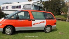 We used Spaceships Camper Van for a trip to Eden for the #whalefestival :)