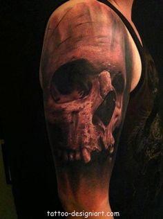 skull tattoo tattoos art design style idea picture image http://www.tattoo-designiart.com/skull-tattoos-designs/skull-tattoo-design/