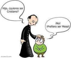 "Spanish jokes for kids, chistes para niños: Word play ""Cristiano. Spanish Puns, Funny Spanish Memes, Funny Jokes, Hilarious, Spanish Posters, It's Funny, Funny Sayings, Comic Foto, Teaching Memes"
