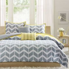 Intelligent Design Elle Chevron Comforter Set  found at @JCPenney