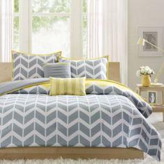Intelligent Design Elle Chevron Comforter Set  found at @JCPenney