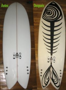 Board DIY On my longboard skate First develop de design :-)