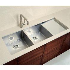 Undermount Kitchen Sink With Drainer blanco silgranit ii sink with drainboard | kitchen ideas