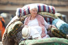 Judi Dench -- The Best Exotic Marigold Hotel great movie