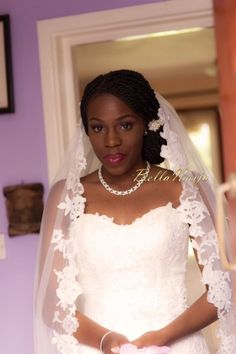 Nigerian Natural Hair Bride BellaNaija Weddings 1