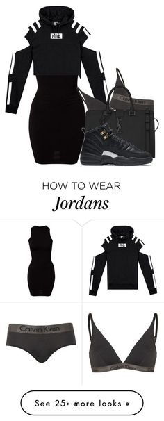 """Go Getter"" by alexanderbianca on Polyvore featuring River Island, Calvin Klein, Yves Saint Laurent and NIKE"