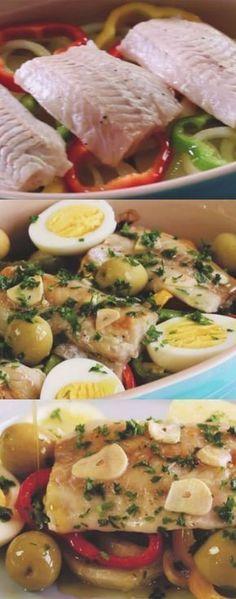 O MELHOR PEIXE DO MUNDO ( PEIXE À PORTUGUESA ) #peixeaportuguesa #peixe #almoço #jantar #comida #chef #gastronomia #receita #receitas