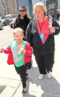 HONEY BOO BOO & MAMA JUNE  The reality stars get some ice cream while out in New York City.