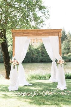 wedding arbor with c