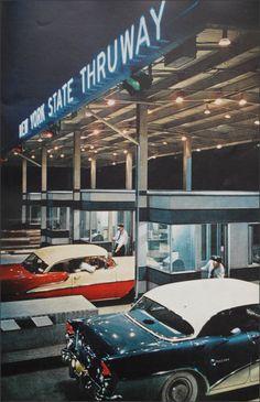1956 CALIFORNIA DRIVE-IN DRY CLEANER 8X10 PHOTO DODGE CONVERTIBLE AUTO AMERICANA