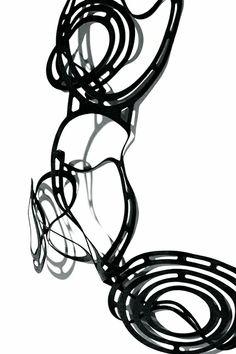 Jelka Quintelier (Black Lune) | Polilla collection | laser cut rubber