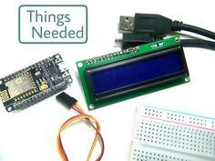 Interface LCD Using NodeMCU