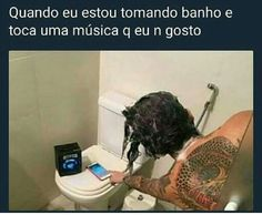 Eu todo santo dia Memes Humor, Dankest Memes, Jokes, Funny Images, Funny Pictures, Bad Songs, Perfectly Timed Photos, Little Memes, Funny Posts