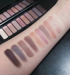 Swatches of the brand new ELF cosmetics 10 pan eyeshadow palette in the shade Nude Rose Gold! This palette is even better than the original ones