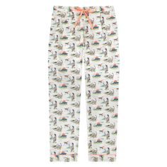 Dino Cotton Lawn Pj Bottom | Nightwear | CathKidston