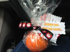 Orange you glad you came.