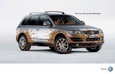 Volkswagen Touareg: Chic mud