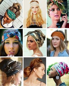 Как красиво завязать платок на голове Lady4You