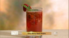 Adult Raspberry Lemonade Recipe | The Chew - ABC.com