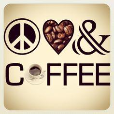 Lo más importante para este año: Paz Amor y Café!