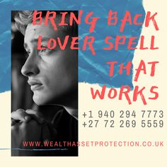 Powerful wealth protection spells and asset protection spells that work effectively. Powerful protection spells help to protect you, your family, business, etc Lost Love Spells, Powerful Love Spells, Attraction Spells, Bring Back Lost Lover, Love Spell That Work, Protection Spells, Spelling, Breakup, Destiny