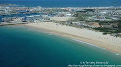A Terceira Dimensão - Fotografia Aérea: Praia do Molhe Leste