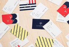 The Yachtsetter by Anagrama #print #graphic design #stationary business card