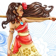 Moana,Illustration,art,Moana fan art ,drawing,sketches,Disney characters