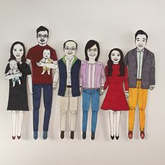"Cat Pang-Murray on Twitter: ""#Weddinggifts 2 parents of the future bride & groom #wedding #anniversary #paperdolls #illustration #birthdays #personalisedgifts https://t.co/R6uW9t1sWK"""