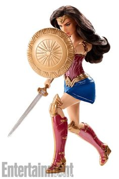 Mattel Unveils Spectacular Wonder Woman' Figures