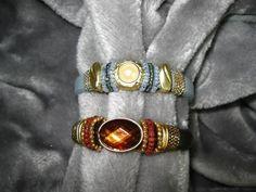 Armbänder - Edles Lederarmband mit Sliderperle Farbwahl - ein Designerstück von Ringfreak bei DaWanda