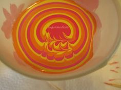 Water Marbling Hints and Tips