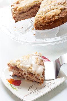 Strawberry Amaretto Coffee Cake for #SundaySupper - Savvy Eats