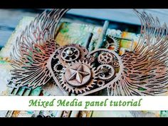 Video tutorial by Ola Khomenok created for Mixed Media Place.