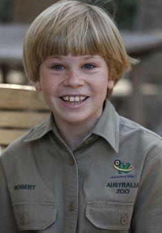 Meet Robert Irwin, Bindi's animal-loving little brother
