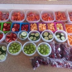 Prepping Food (21 Day Fix Friendly)