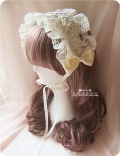 Sweetheart Square Håndlaget ♥ ♥ kremmere harmon egnet Sen Sen ga kvinnelige skog Jihua Duolei Si bow bånd - Taobao