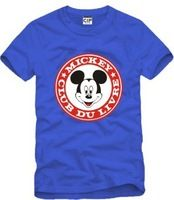 2014 Summer New Men's MICKEY T shirts Short Sleeve Hiphop Skateboard MICKEY T-shirts