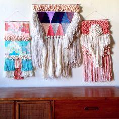 Weaving woven tapestries woven wall hangings by maryanne moodie  Www.maryannemoodie.com
