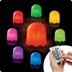 PAC Man LED Lampe 16 Farben mit Fernbedienung | Tolle Deko für ein Zocker Zimmer | Gaming Room