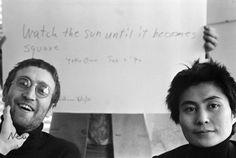 John & Yoko #beatles #thebeatles