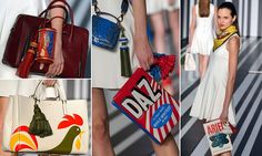 Anya Hindmarch unveils handbags emblazoned with Daz washing detergent