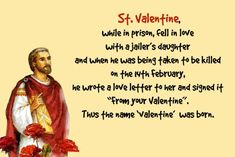 How did valentine's day start? Know valentines day history and facts along with the meanings of different color roses, colors and many more. Love Letter To Her, Writing A Love Letter, Love Letters, Valentines Day Trivia, Valentines Day History, Kneeling In Prayer, Communion Sets, Worship Jesus, Valentine Picture