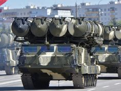 The S-300: Another long-range surface-to-air missile system, the S-300 is a beast at bringing down aircraft. In fact, it can take out six planes at the same time, with 12 missiles per target. Anything in the air within 300km should watch out.