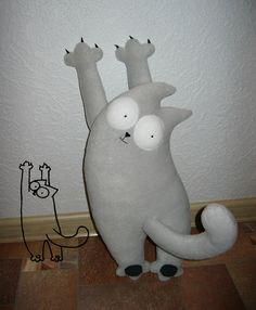 Katrin Black HANDMADE: Simon's Cat форева!