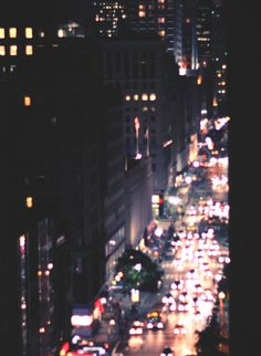 busy street - night
